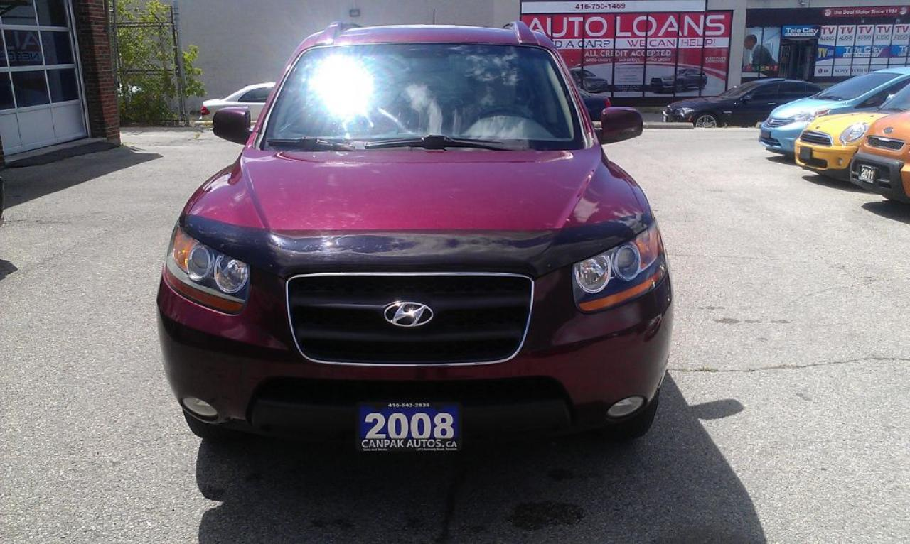 Photo of Red 2008 Hyundai Santa Fe