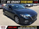 Used 2014 Mazda MAZDA3 GX-SKY | FOG LIGHTS | BLUETOOTH CONNECTIVITY for sale in Hamilton, ON