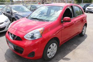 Used 2016 Nissan Micra SV Bluetooth for sale in Brampton, ON