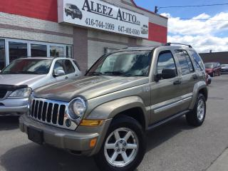Used 2006 Jeep Liberty Limited, Certified. 4x4 , Mint interior & exteior for sale in North York, ON