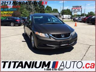 Used 2013 Honda Civic EX+Camera+Sunroof+Heated Seats+BlueTooth+New Tires for sale in London, ON
