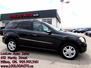 Used 2008 Mercedes-Benz ML 350 ML320 CDI 4x4 Sunroof Bluetooth Certified for sale in Milton, ON