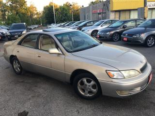 Used 1998 Lexus ES 300 AUTO/LEATHER/SUNROOF/FULLY LOADED for sale in Scarborough, ON
