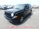 Used 2016 Jeep PATRIOT HIGH ALTITUDE 4D UTILITY 2WD 2.0L for sale in Calgary, AB