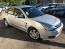 Used 2009 Ford Focus SEL/AUTO/LEATHER/SUNROOF/4-CYLINDER for sale in Pickering, ON