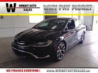 Used 2016 Chrysler 200 C|NAVIGATION|SUNROOF|LEATHER|24,433 KMS for sale in Cambridge, ON