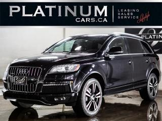 Used 2012 Audi Q7 3.0T Quattro, 7 PASS for sale in North York, ON