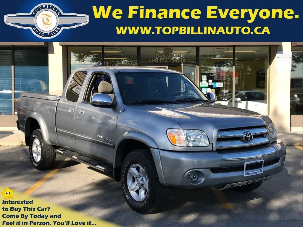 2006 Toyota Tundra V8 4WD, TRD, Bed Cover, DOUBLE CAB 151K kms