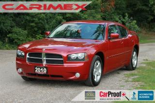 Used 2010 Dodge Charger SXT ONLY 78K | Leather | CERTIFIED for sale in Waterloo, ON