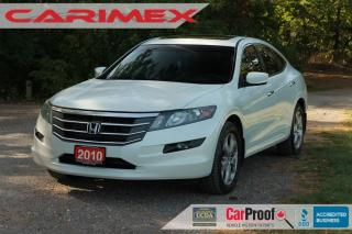 Used 2010 Honda Accord Crosstour EX-L Sunroof | Leather | CERTIFIED for sale in Waterloo, ON