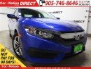 Used 2017 Honda Civic LX| BACK UP CAMERA| TOUCH SCREEN| for sale in Burlington, ON