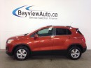 Used 2015 Chevrolet Trax LT- TURBO! AWD! A/C! ON STAR! CLEAN TRADE! for sale in Belleville, ON