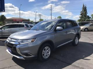 Used 2016 Mitsubishi Outlander ES 4x4!!! for sale in Brantford, ON