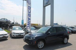Used 2016 Volkswagen Tiguan Special Edition w/ Bluetooth & Heated Seats! for sale in Whitby, ON