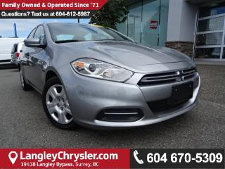 Used 2016 Dodge Dart SE w/POWER GROUP & 6SPD MANUAL for sale in Surrey, BC