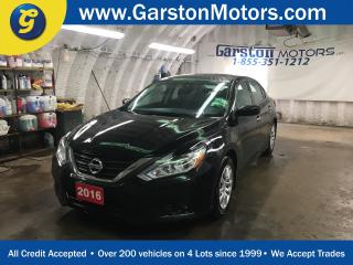 Used 2016 Nissan Altima S*CVT*BACK UP CAMERA*REMOTE START*HANDS FREE CALLING*BLUETOOTH AUDIO STREAMING*PUSH BUTTON IGNITION*POWER HEATED MIRRORS*POWER DRIVER SEAT*FOG LIGHTS* for sale in Cambridge, ON