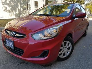 Used 2014 Hyundai Accent GL-2.99% available-Bluetooth-Pristine for sale in Mississauga, ON