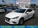Used 2014 Mazda MAZDA3 Sport GX-SKY Prl White Hatchback Btooth/All Power &GPS* for sale in Mississauga, ON