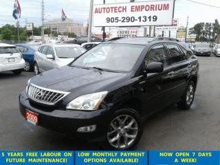 Used 2009 Lexus RX 350 Tech Pkg. Navigation/Camera fully loaded for sale in Mississauga, ON
