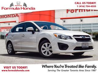 Used 2013 Subaru Impreza 2.0i | ONE OWNER | ACCIDENT FREE | ALL WHEEL DRIVE for sale in Scarborough, ON