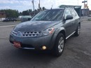 Used 2006 Nissan Murano SL, NO ACCIDENT,LOW MILLAGE for sale in Scarborough, ON