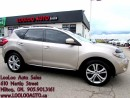 Used 2009 Nissan Murano LE Leather Navigation Camera Certified for sale in Milton, ON