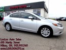 Used 2012 Honda Civic EX-L Navigation Automatic Certified 2 YR Warranty for sale in Milton, ON