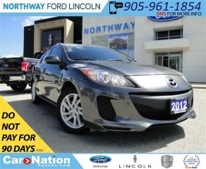 Used 2012 Mazda MAZDA3 GX | LOW KM | | SPORTY | for sale in Brantford, ON