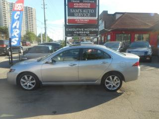 Used 2005 Acura TSX Luxury for sale in Scarborough, ON