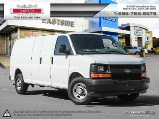 Used 2017 Chevrolet Express 2500 LONG BOX CARGO VAN for sale in Markham, ON