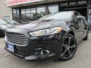 Used 2013 Ford Fusion SE-NAVIGATION-CAMERA-LEATHER-BLUETOOTH-ECO-BOOST for sale in Scarborough, ON