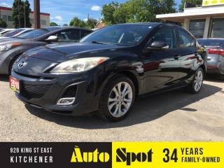 Used 2010 Mazda MAZDA3 GT/MOONROOF/PRICED FOR A QUICK SALE! for sale in Kitchener, ON