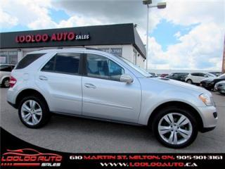 Used 2008 Mercedes-Benz ML-Class ML320 CDI 4x4 Sunroof Bluetooth Certified for sale in Milton, ON