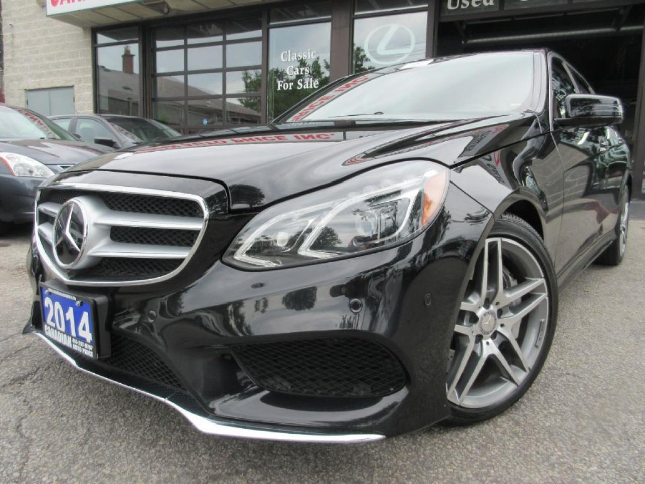 2014 Mercedes-Benz E550 E550 4MATIC-NAVI-360-CAMERA-V8-LOADED
