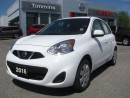 Used 2016 Nissan Micra SV for sale in Timmins, ON