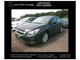 Used 2014 Subaru Impreza 2.0i Touring Pkg - ONLY 26,000KM! HEATED SEATS,AWD for sale in Orleans, ON