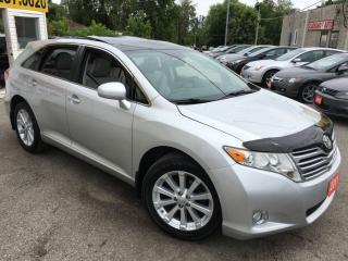 Used 2011 Toyota Venza AWD/BACKUPCAMERA/LEATHER/ROOF/LOADED/ALLOYS for sale in Pickering, ON