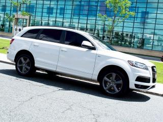 Used 2014 Audi Q7 TDI|S LINE|NAVI|REARCAM|DUAL DVD|PANOROOF for sale in Scarborough, ON