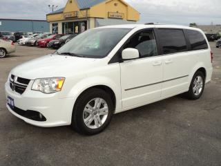 Used 2016 Dodge Grand Caravan Crew Stow-N-Go 3rd Row Seating for sale in Brantford, ON