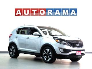 Used 2011 Kia Sportage NAVIGATION BACK UP CAMERA LEATHER SUNROOF 4WD for sale in North York, ON