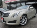 Used 2014 Cadillac ATS 2.5L-LEATHER-BACK UP CAMERA-BLUETOOTH-ONE OWNER for sale in Scarborough, ON