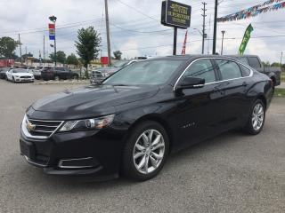 Used 2017 Chevrolet IMPALA LT * LEATHER/CLOTH * BLUETOOTH * SAT RADIO SYSTEM * LOW KM for sale in London, ON
