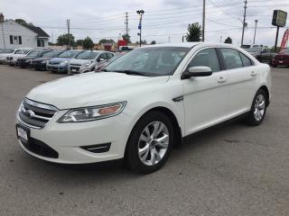 Used 2011 Ford TAURUS SEL * REAR PARKING SENSOR * SAT RADIO SYSTEM * PREMIUM CLOTH SEATING for sale in London, ON