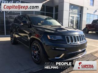 Used 2014 Jeep Grand Cherokee SRT| Leather| Sunroof| Navigation| Low KM| USB for sale in Edmonton, AB