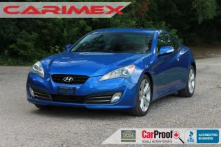 Used 2010 Hyundai Genesis Coupe 3.8 V6 | Leather | Sunroof for sale in Waterloo, ON