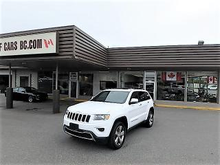 Used 2016 Jeep Grand Cherokee LTD AWD for sale in Langley, BC