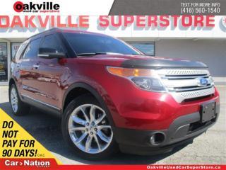 Used 2013 Ford Explorer XLT | LEATHER | SUNROOF | NAVI | 7 PASSENGER | for sale in Oakville, ON