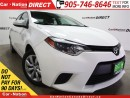 Used 2014 Toyota Corolla S| BACK UP CAMERA| TOUCH SCREEN| HEATED SEATS| for sale in Burlington, ON