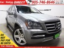 Used 2012 Mercedes-Benz GL-Class GL550 4MATIC| DVD| SUNROOF| NAVI| for sale in Burlington, ON