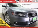 Used 2012 Audi A4 2.0T Premium| AWD| LOW KM'S| SUNROOF| for sale in Burlington, ON